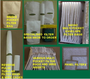 Filter Bags - Tubular - Pocket - Multi Pocket - Panel